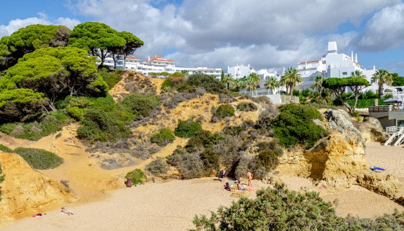 One of the many beaches near Albuferia