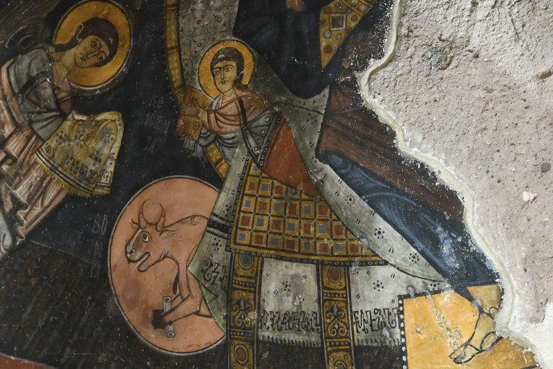 Gumusler Monastery Main apse 1166.jpg