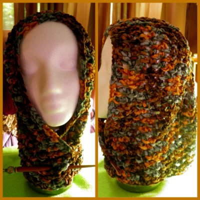 Crocheted Hood