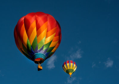 Firecracker, Hot Air Balloon, ABQ Fiesta