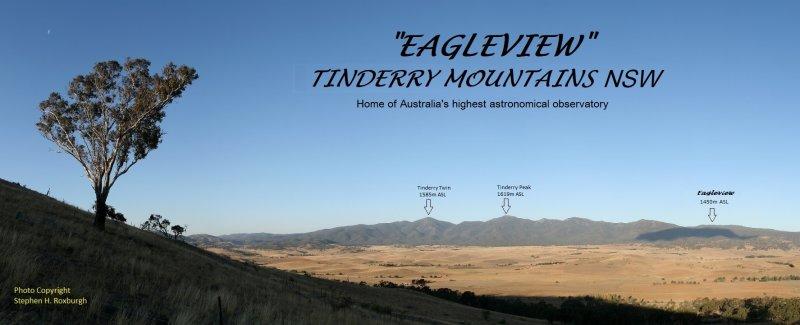 Eagleview Observatory, Mt Eagle, Tinderry Mountain Range, NSW Australia