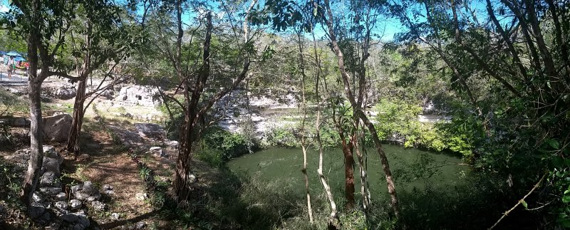 Panorama of the Sacred Cenote