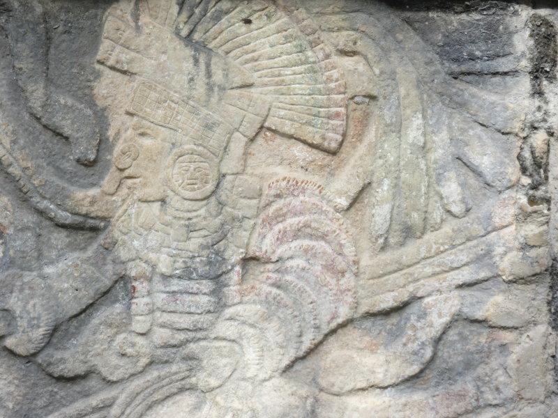 Platform of the Skulls - carving