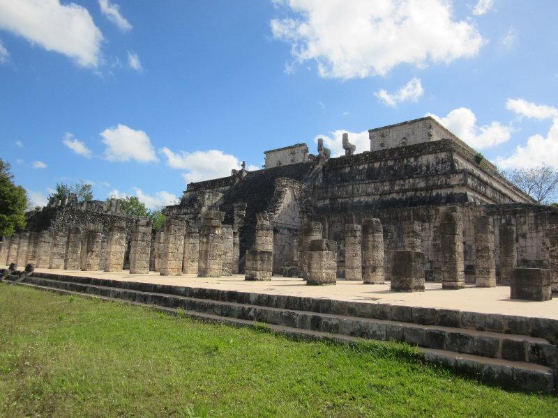 Templo do los Guerreros (Temple of the Warriors)