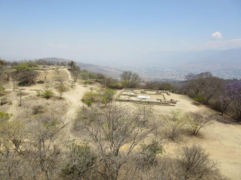Tumbas overlooking the valley