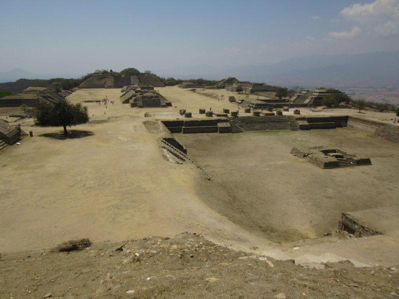 Towards the Plataforma Norte and the Patio Hundido (Sunken Patio)