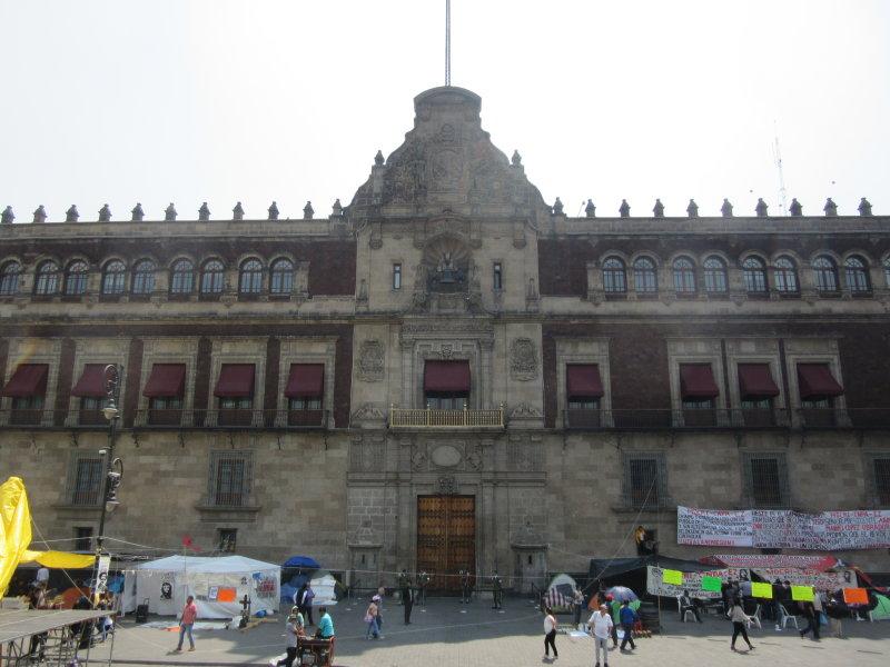 Palacio Nacional - Presidents offices and the Federal Treasury
