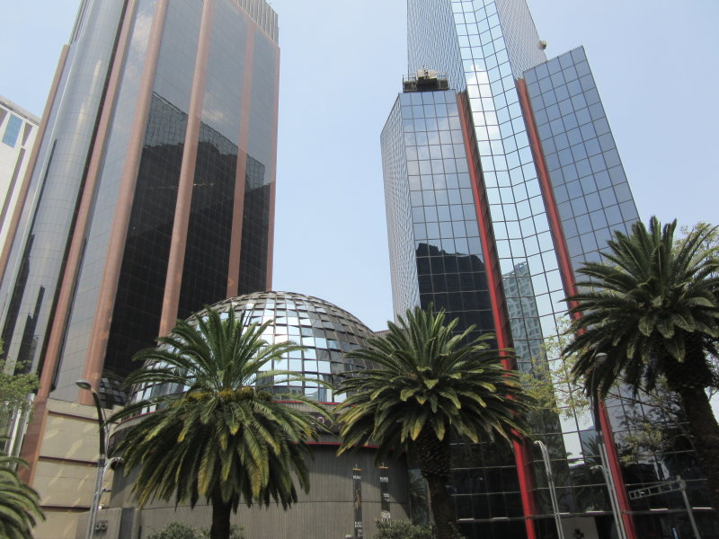 Mexican Stock Exchange - domed building
