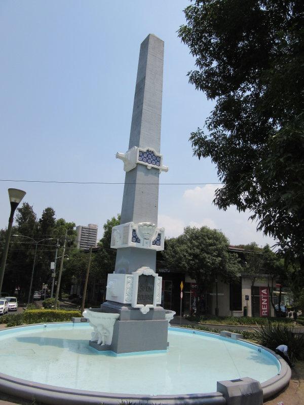Monument to Simon Bolivar
