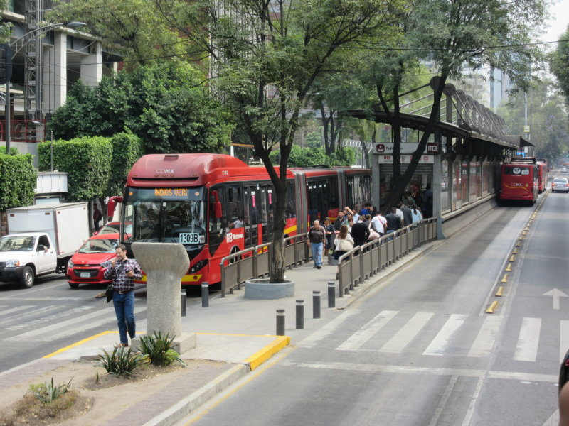 Metro buses - with dedicated lanes