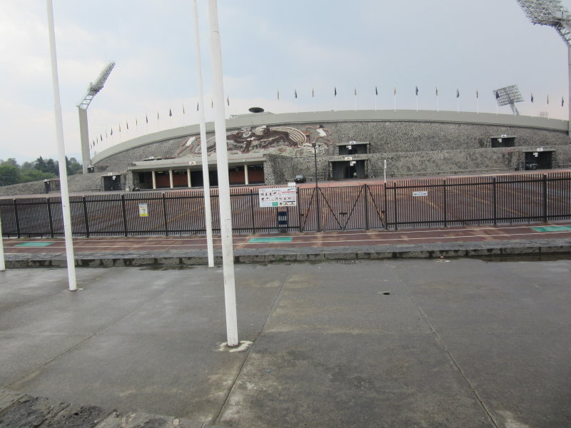 Olympic Stadium - 1968 - now home to the Pumas football club