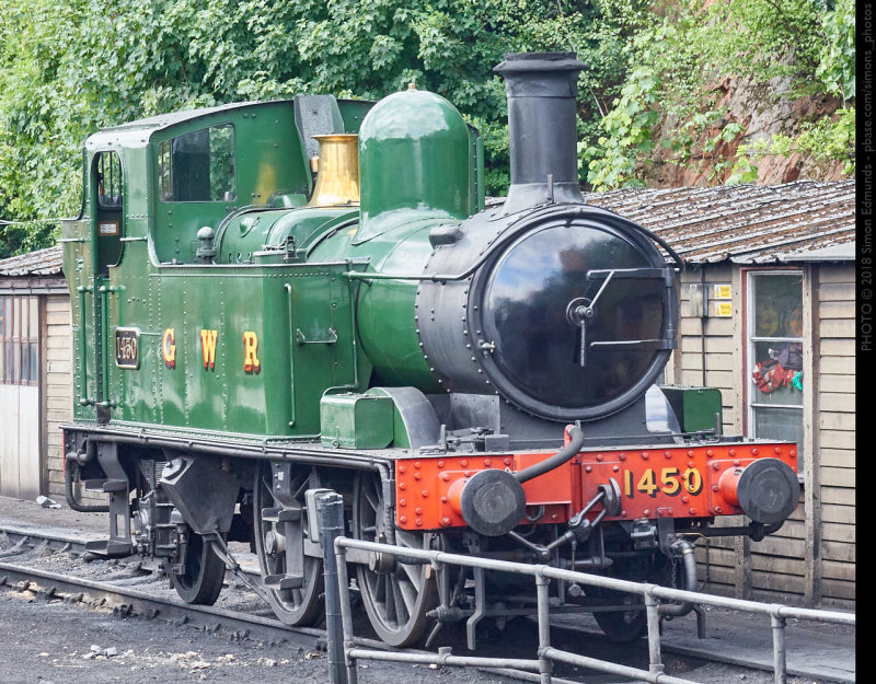 GWR No. 1450 at Bewdley, Severn Valley Railway