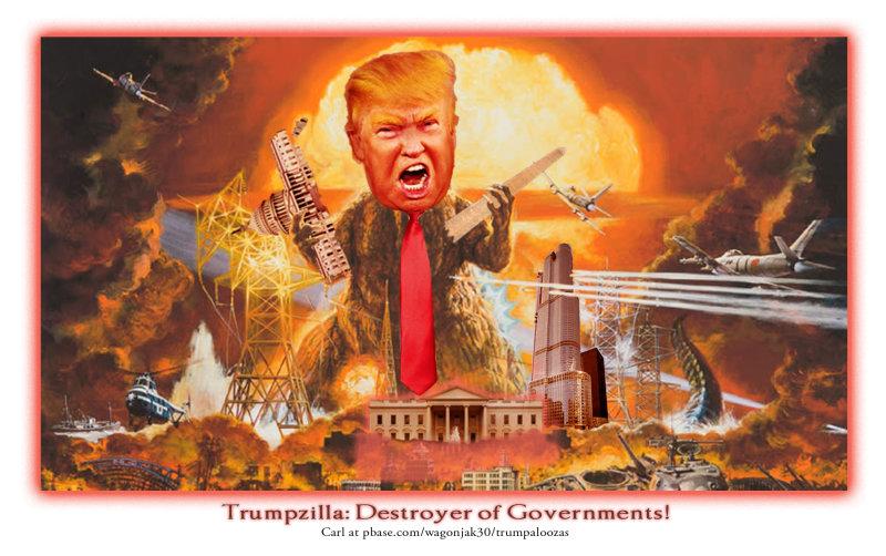 Godzilla Donny
