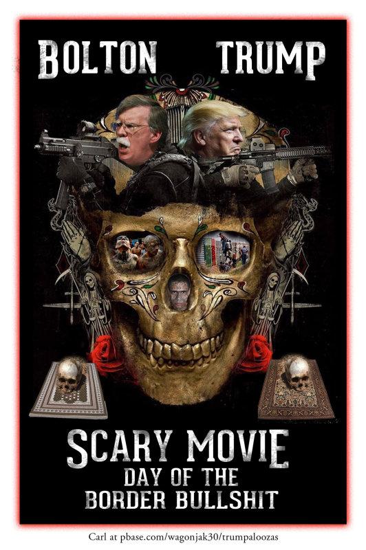 Scary Trump Bolton Movie