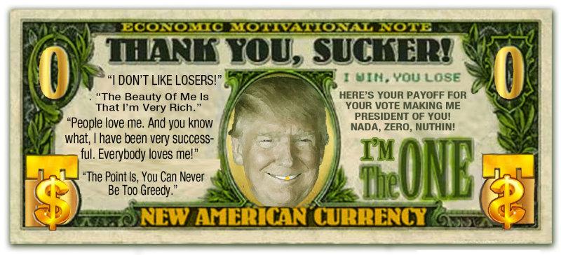 Trumps Sucker Bill
