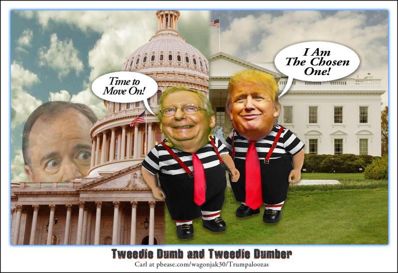 Tweedle Dumb and Tweedle Dumber