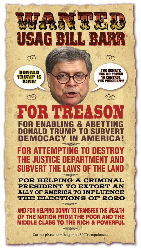 WANTED: Bill Barr