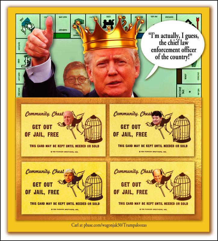 Trump Monopoly Game