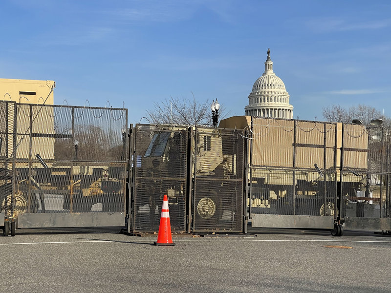 Troops guarding the Capitol sickened, hospitalized due to 'below substandard' food