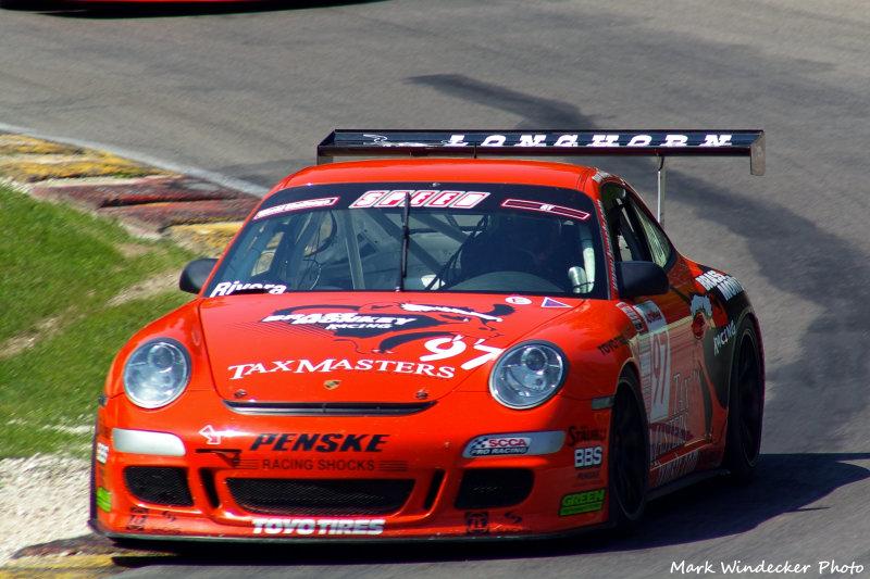 1ST  TONY RIVERA  PORSCHE 911 GT3