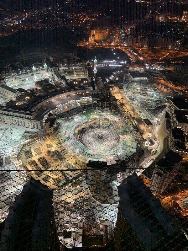 Masjid Al-Haram view from Clock Tower.jpg