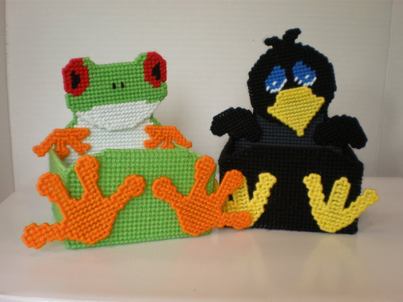 Frog & Crow Treat Boxes