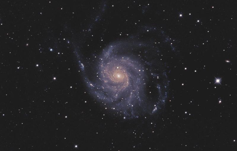 M 101 Pinwheel Galaxy in Ursa Major