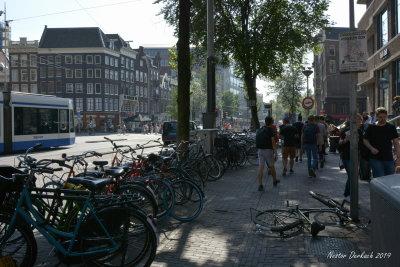 Bikers paradise Amsterdam.
