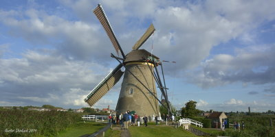 Netherlands       Windmills at    Kinderkijk