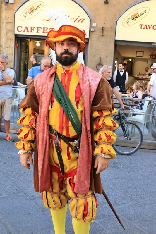 Firenze. Calcio Storico Parade