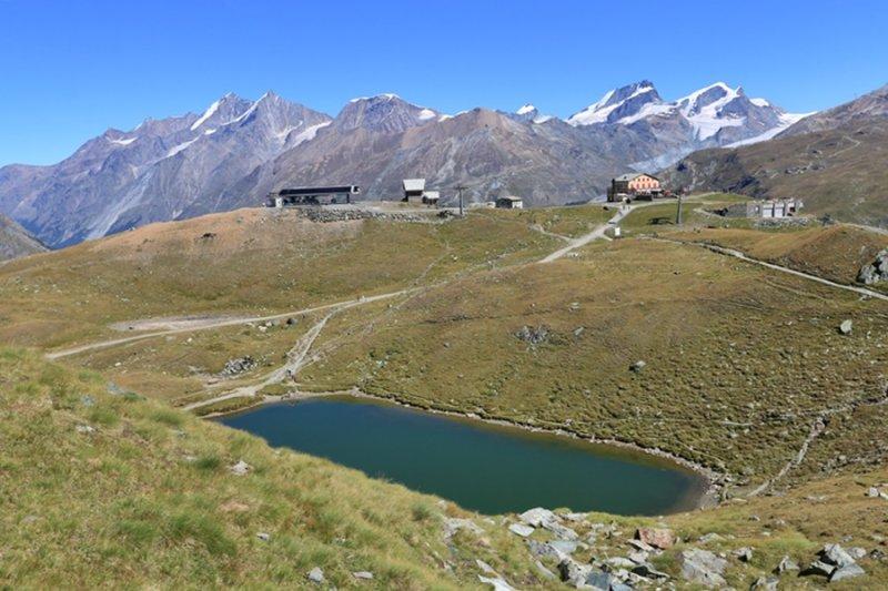 Zermatt. Schwarzsee Area
