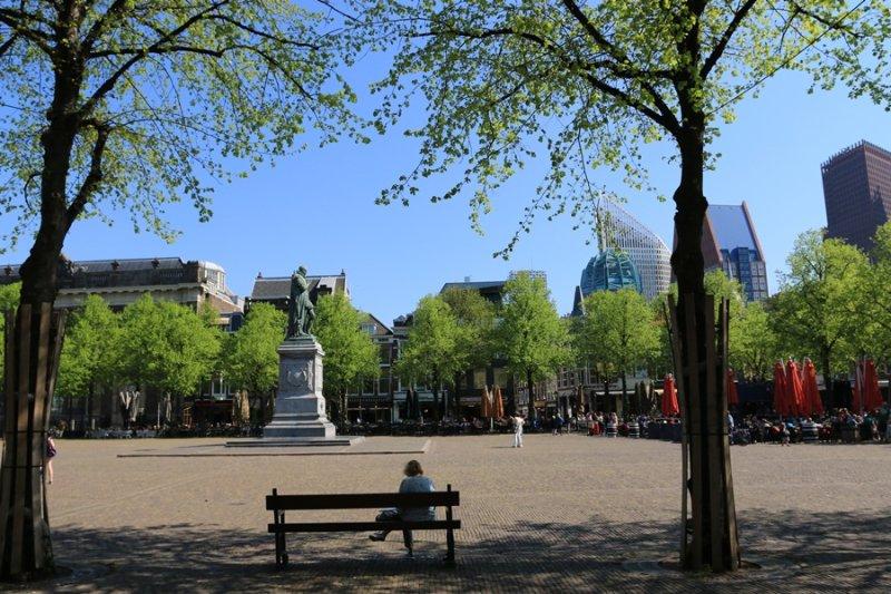 The Hague (Den Haag). Het Plein
