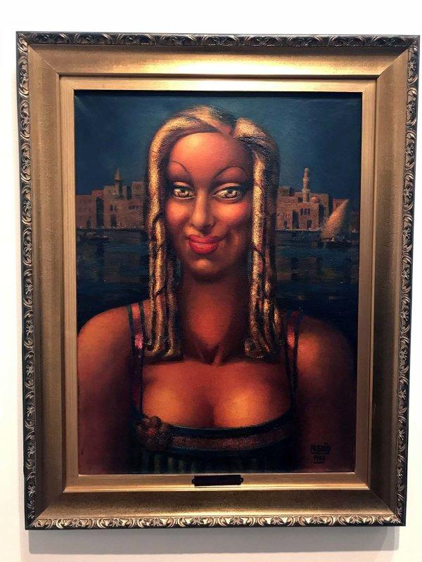 Femme aux boucles dor (1933) - Mahmoud Saïd - 1313