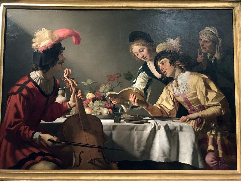 Concert (c. 1623) - Gerritt van Honthorst - 1139