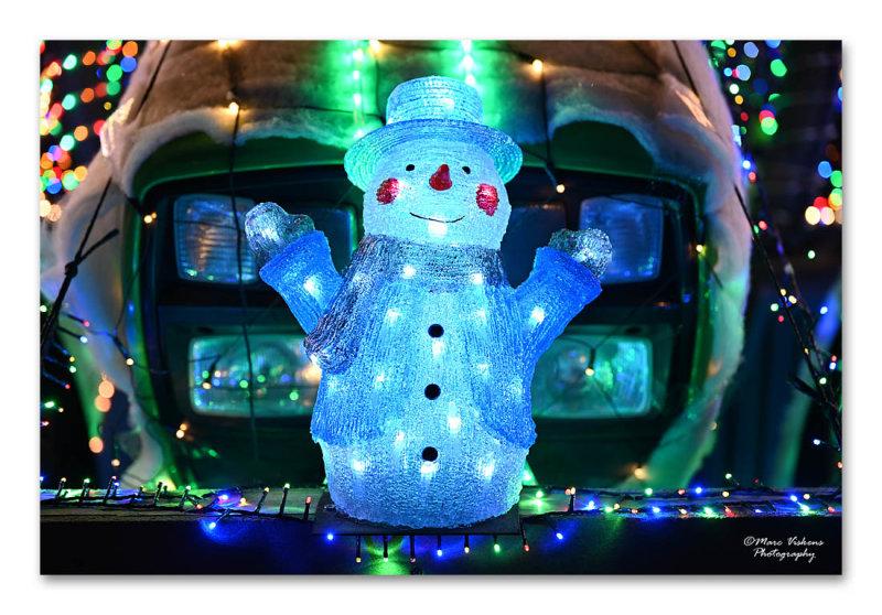 Tactor Kerst Licht Parade Werchter