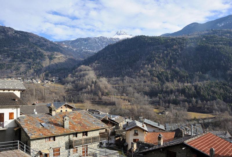 Aosta Valley region, Village of Cerian