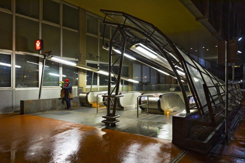 Pražského povstání metro station