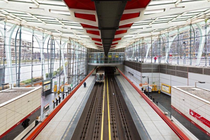 Střížkov metro station