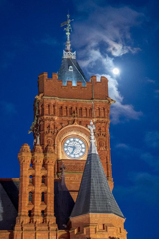 Pierhead Building Clock Tower