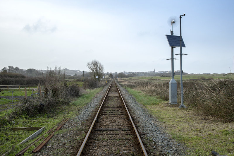 Railway Line at Penally