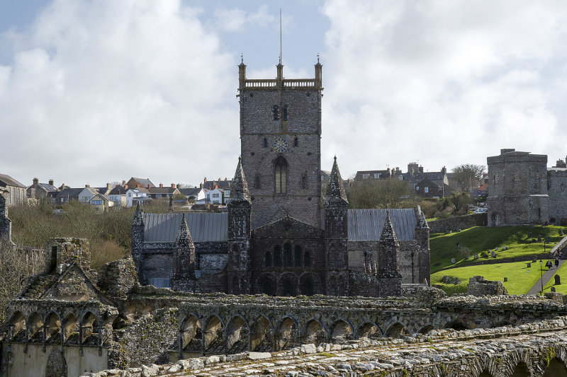 Cathedral from Bishops Palace