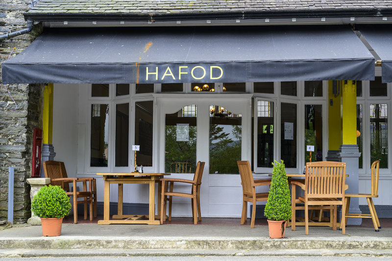 Hafod tables and chairs