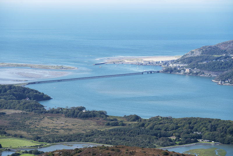 Barmouth from Pared Y Cefn Hir