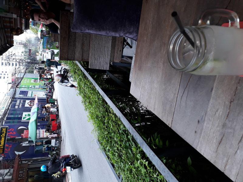 Lime juice at Viva Restaurant Soi 8 Bangkok