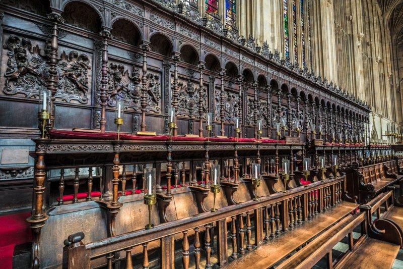 Kings College Choir Seats