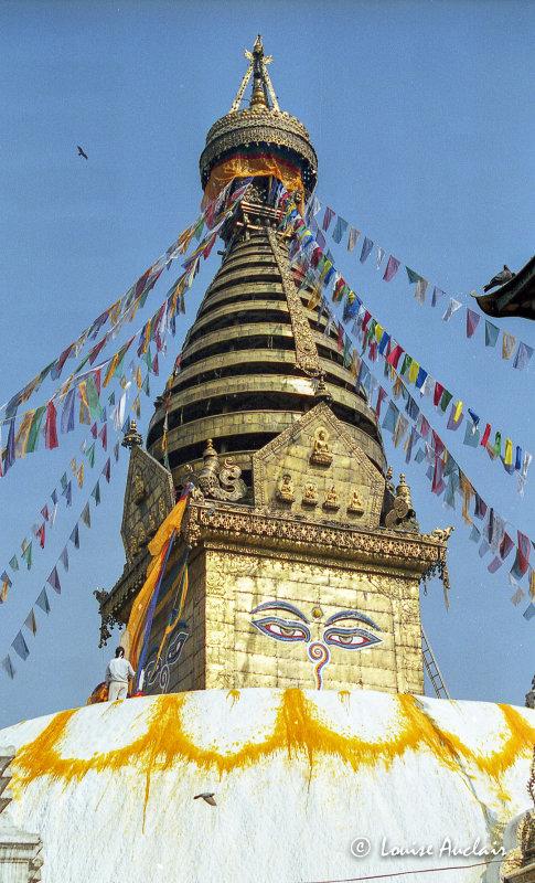 Swayambunath à Katmandou