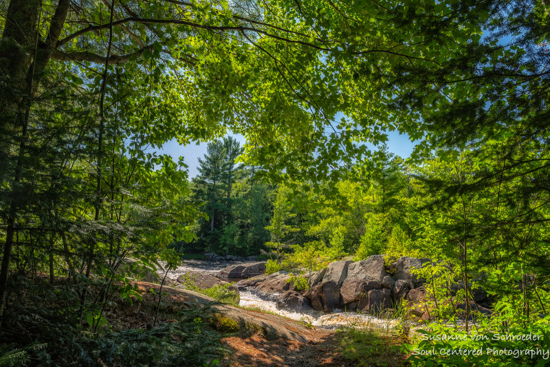 Little Falls, Flambeau River