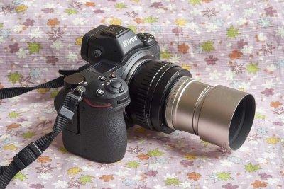 G-Sonnar 90mmF/2.8 mod with Nikon Z7
