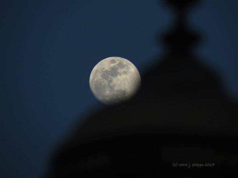 Moon & Lamp Post
