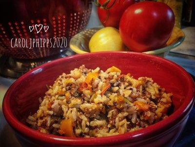 Rice-Quinoa-Veggies